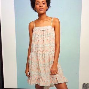 Anthropologie boho dress